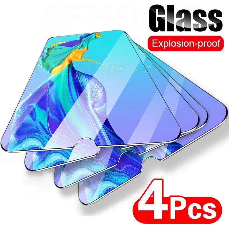 4 قطعة الزجاج المقسى واقية لهواوي P20 P30 P40 لايت P الذكية 2019 حامي الشاشة لهواوي ماتي 30 20 لايت P20 برو فيلم