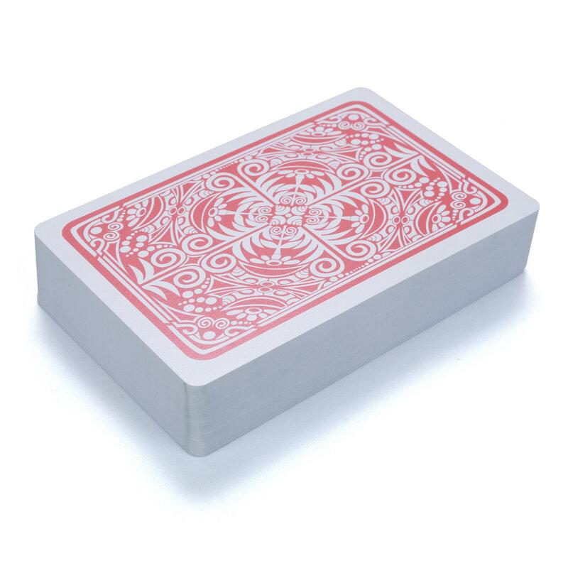 PVC لعب البوكر بطاقات 54 قطعة أسود للماء جودة دائم بوكر البلاستيك بوكر الإبداعية هدية لعب البوكر بطاقات