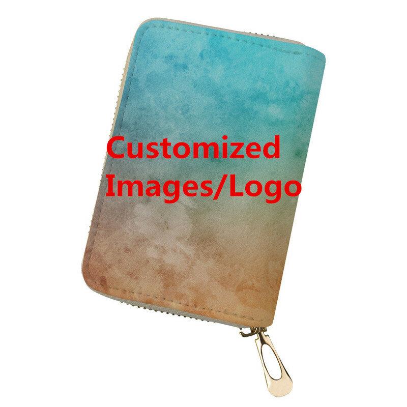 FORUDESIGNS مخصصة حامل بطاقة مطبوعة لبطاقة الائتمان المرأة حامل جواز سفر السيدات السفر ضرورة حامل بطاقة s Bolsa