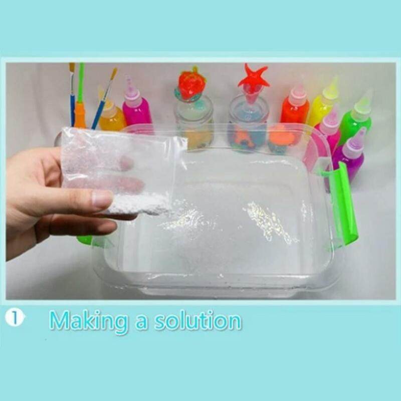 لعبة الماء مجموعة ماجيك متعددة الوظائف لتقوم بها بنفسك مجموعة اللعب لهدايا الأطفال