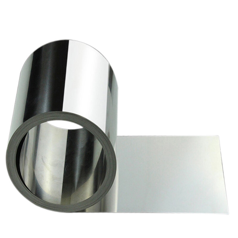 1m 304 الفولاذ المقاوم للصدأ مع الصلب احباط لوح فولاذي 430 لوحة من الحديد سمك 0.03 مللي متر x 400 مللي متر x 1000 مللي متر