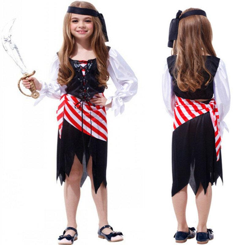 أطفال بنين القراصنة تأثيري ازياء مجموعة لجميع القديسين ازياء الفتيات الطرف
