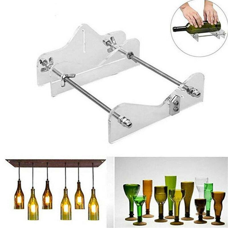 Eer-قطاعة زجاجات احترافية ، أداة عملية متعددة الوظائف لتقطيع الزجاجات ، النبيذ