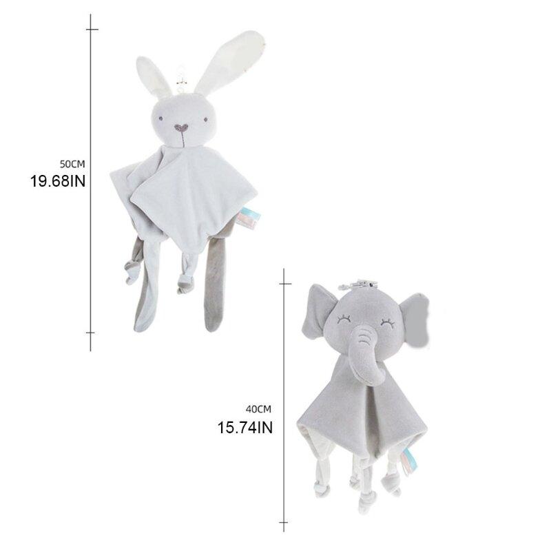 طفل النشاط الوليد استرضاء منشفة حشرجة النمو مهدئا منديل بطانية أفخم لعب لينة هدية للطفل
