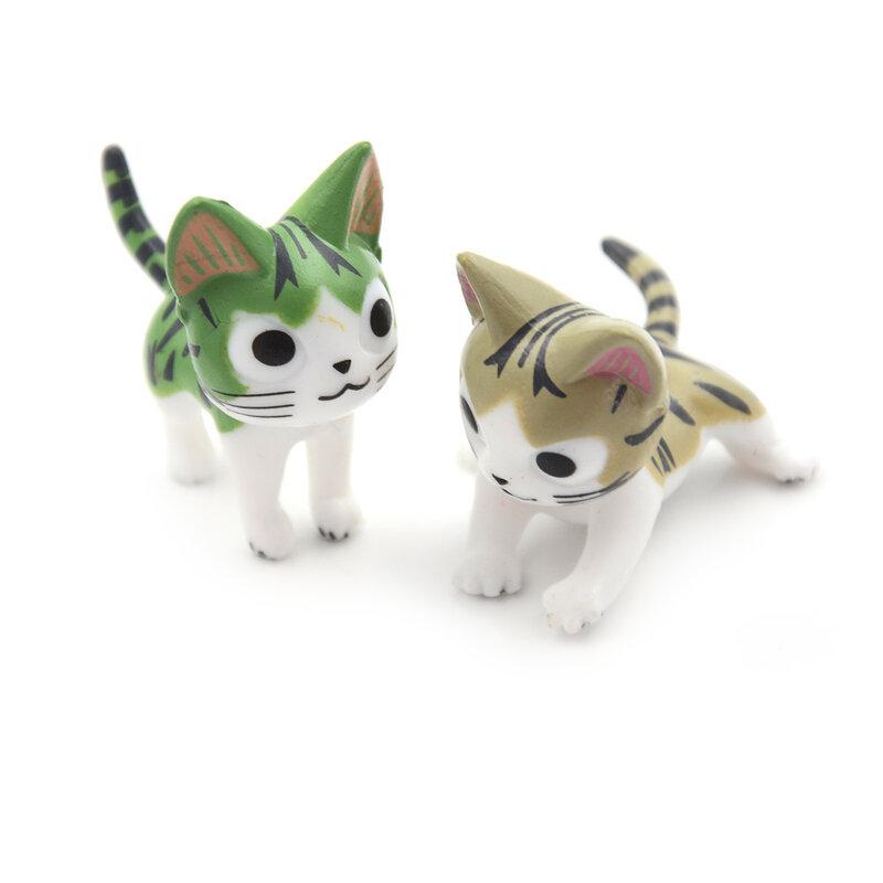 أفضل البائعين 3 قطعة صغيرة القط موس العالم الصغير بونساي حديقة المناظر الطبيعية زخرفة صغيرة