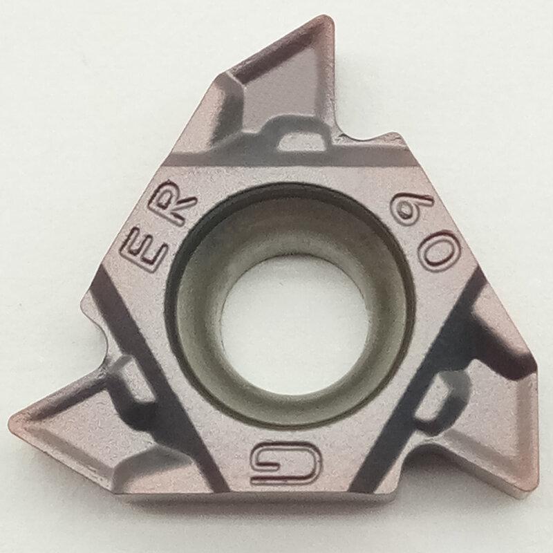 10 قطعة MMT16ER G60-S VP15TF MMT16IR G60-S VP15TF كربيد CNC أدوات معالجة الفولاذ المقاوم للصدأ و الحديد الزهر شفرة