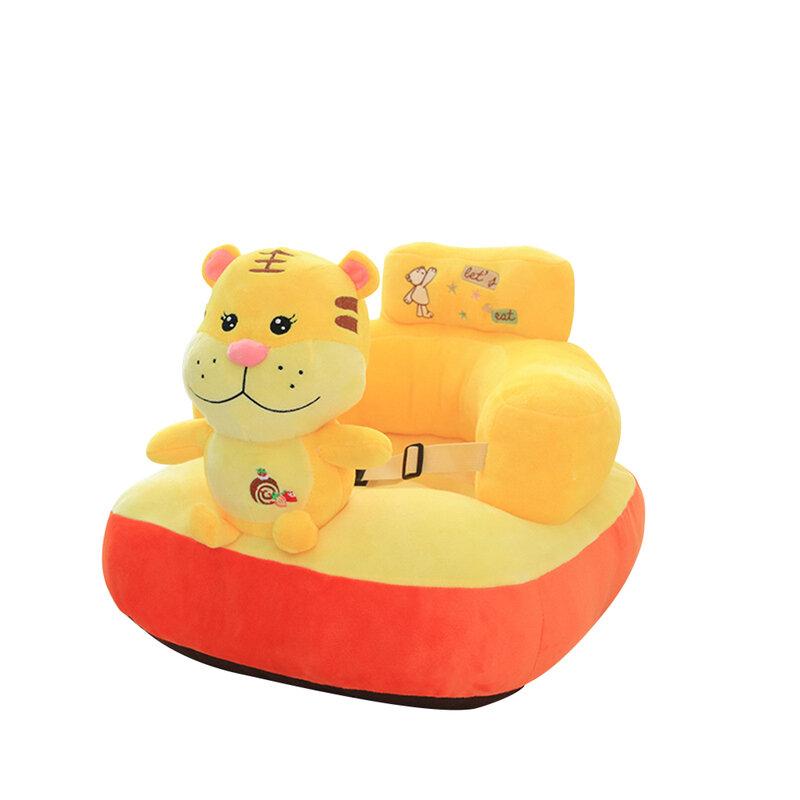أريكة للطفل مقعد الدعم يغطي مقعد الطفل أريكة الجلد الكرتون شكل أريكة يغطي لا ملء القطن التعلم كرسي