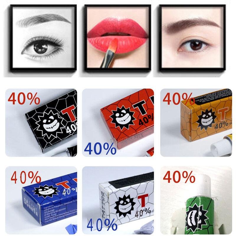 Hadiyah tktx الوشم مرهم 40% الأصلي دروبشيبينغ أفضل Microblading الحاجب الصباغ لوازم التجميل