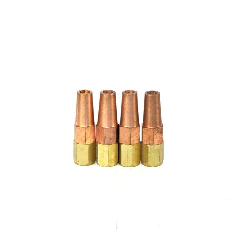 5 قطعة/الوحدة النحاس الأسيتيلين الشعلة فوهة ل H01-6 شعلة لحام دعم مزيج النظام