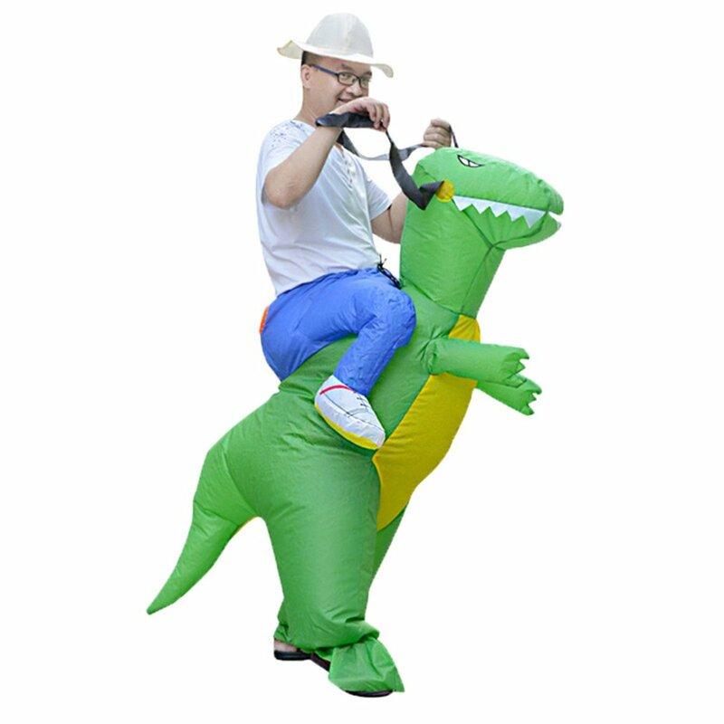 أطفال ديناصور نفخ T-Rex زي طفل هالوين تفجير فستان بتصميم حالم حتى رياض الأطفال حديقة الأداء
