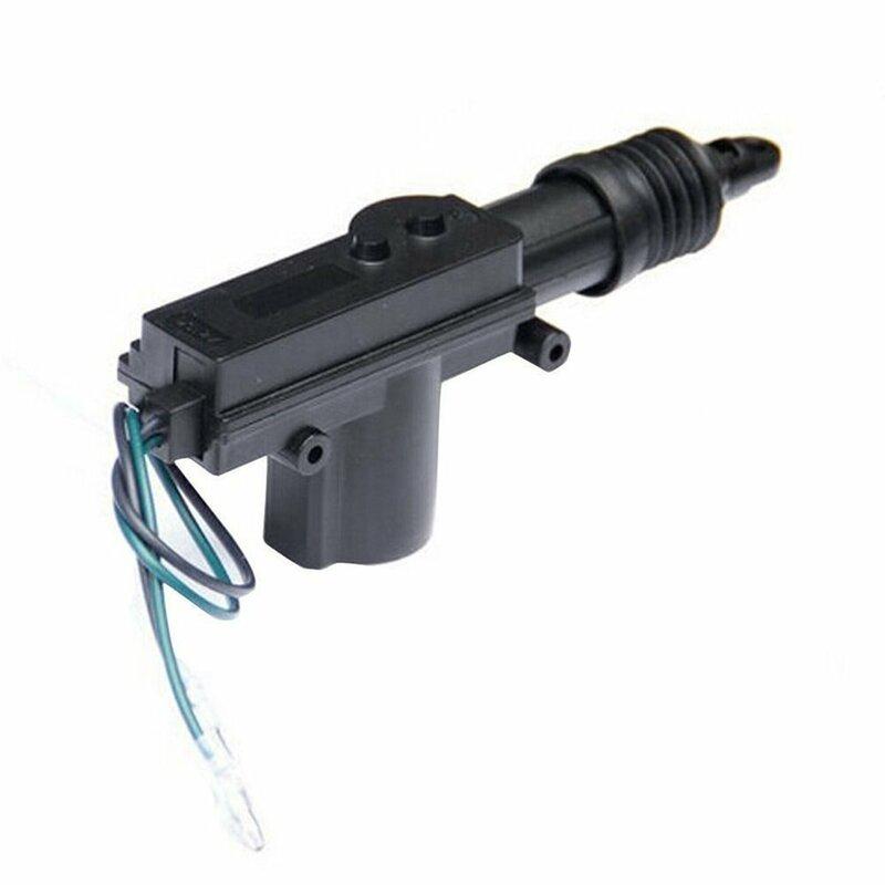 العالمي الثقيلة محرك المُشغل الإلكتروني لقفل الباب 2 سلك 12 فولت نظام قفل السيارة المحرك واحد بندقية نوع عدة