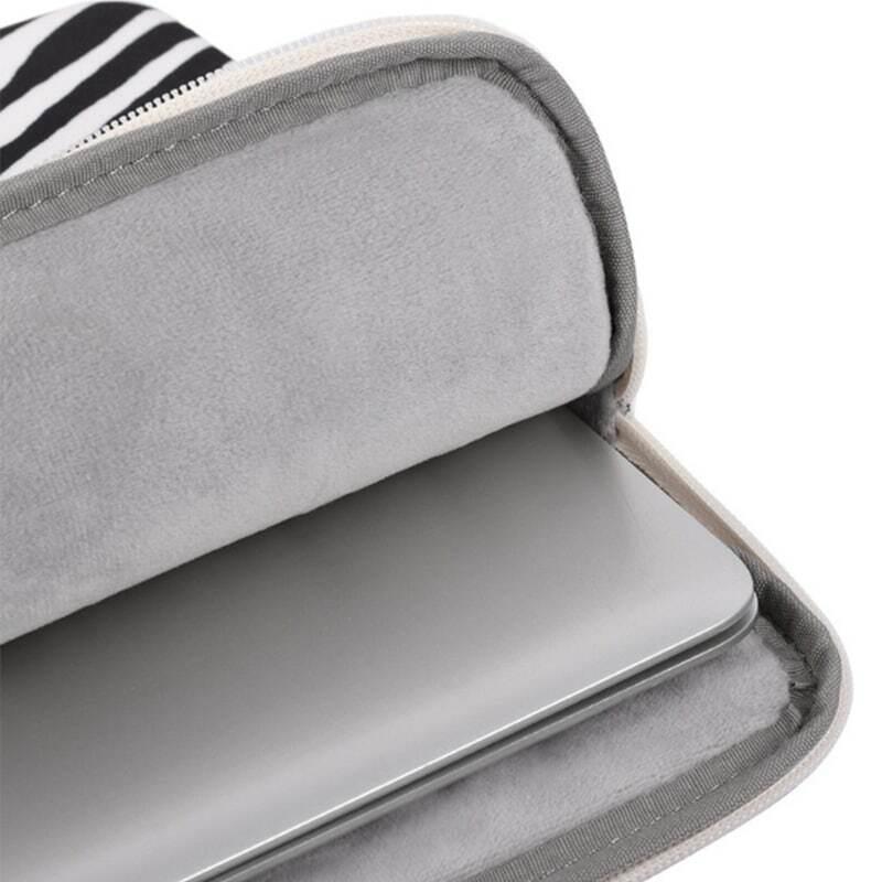 مقاوم للماء جيب للجهاز اللوحي حافظة زيبرا مخطط زيبر صدمات حقيبة التخزين المحمول