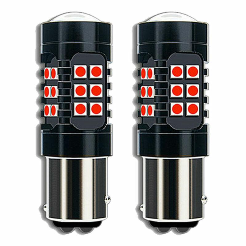 1157 الذيل مصباح وامض 2 قطعة LED أجزاء وقف المصابيح الذيل مصباح وامض