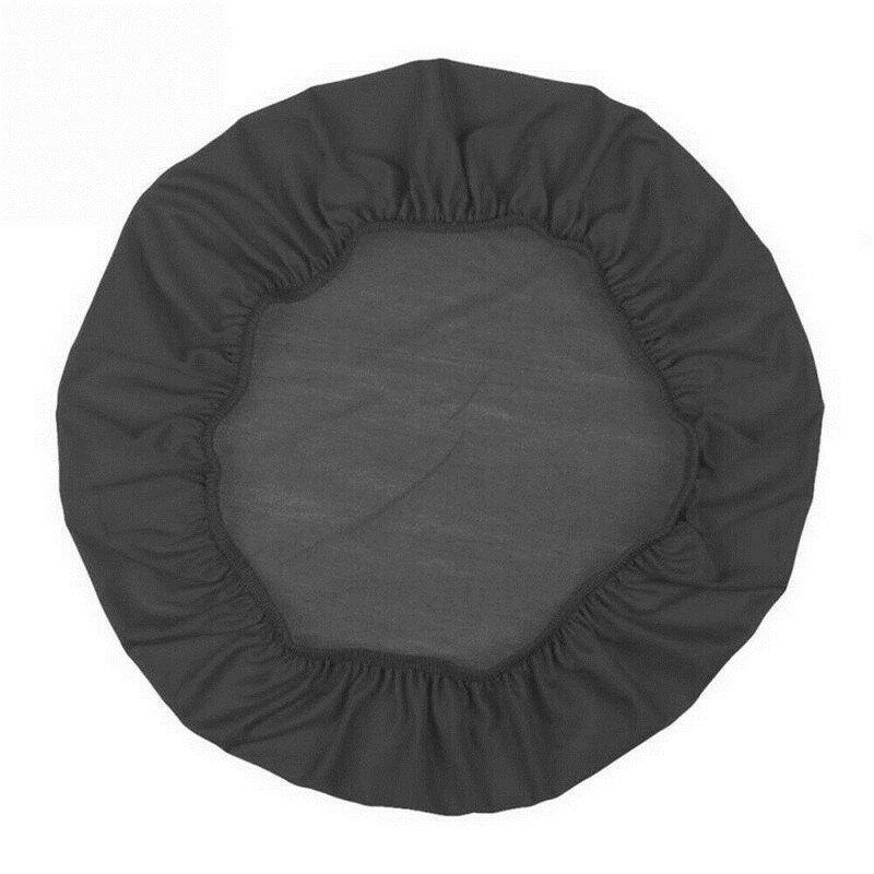 غطاء كرسي مرن تلسكوبي ، مستدير ، قابل للفصل ، بسيط ، منسوجات منزلية ، 1 قطعة