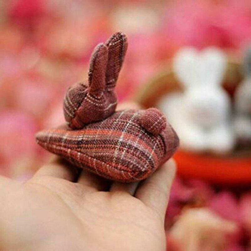 فك دمية على شكل أرنب لعبة: 3 الأرانب في الجزرة محفظة هدايا حفل زفاف وعيد ميلاد ديكور محشوة ألعاب من القطيفة فستان لطيف أرنب 2021