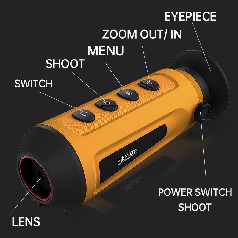 كاميرا حرارية LC06 ضرورية للصيد في الهواء الطلق يده واي فاي مقاوم للماء IP 67 للرؤية الليلية للكشف عن مراقبة دورية