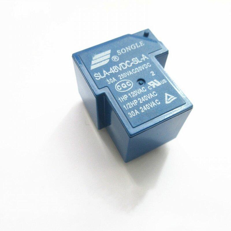 10 قطعة السلطة التبديلات SLA-48VDC-SL-A 48 فولت 30A 5PIN T90 مجموعة من مفتوحة عادة عالية الجودة
