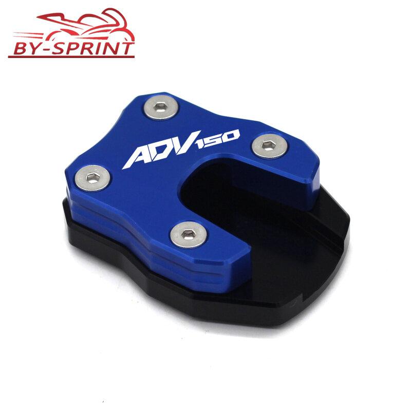 حامل جانبي للدراجة النارية CNC ، تمديد للتكبير ، لـ ADV150 ADV 150 adv150 2019-2020 ، شعار الليزر
