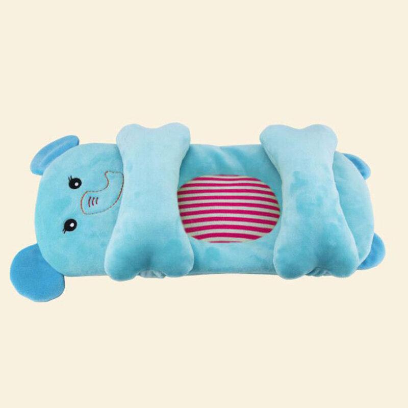 وسادة أطفال قطنية قابلة للتعديل ، وسادة للرضع ، تمنع تشكيل الرأس المسطح ، وضعية النوم ، وسادة الرضاعة الطبيعية لحديثي الولادة