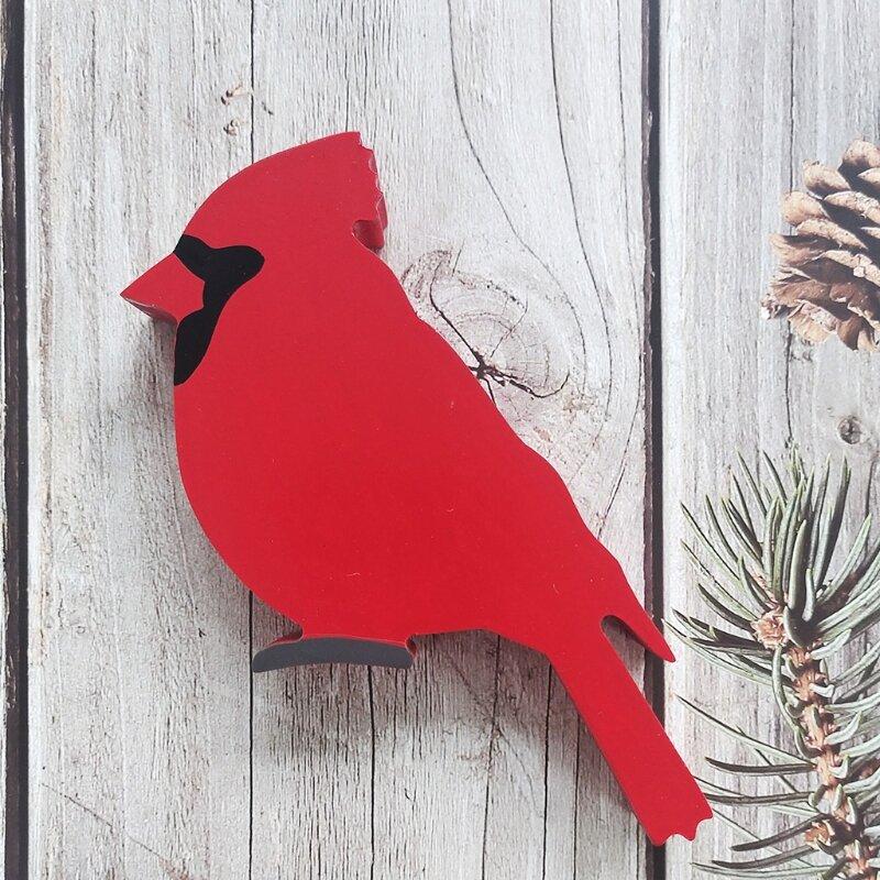 الاصطناعي الأحمر الكاردينال الطيور سطح المكتب زخرفة الإبداعية الطيور تمثال ديكور للمنزل داخلي الإبداعية سطح المكتب الديكور الفن الدعائم