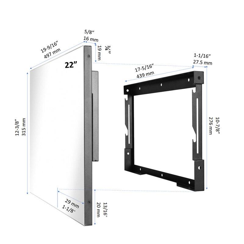 Soulaca 22inch Hotel Bathroom Mirror Screen Waterproof Smart TV