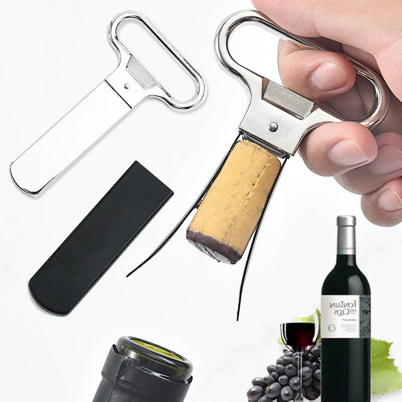 فتاحة النبيذ المفتاح الإبداعي دون الإضرار الفلين آمنة المحمولة أدوات مطبخ بار اكسسوارات