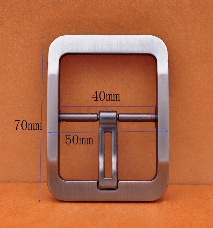 قوي الثقيلة العتيقة الفضة الرجال ضخمة واسعة الغربية مركز بار الجلود الحرفية حزام البنطال الجينز مشبك الأجهزة استبدال صالح 40 مللي متر