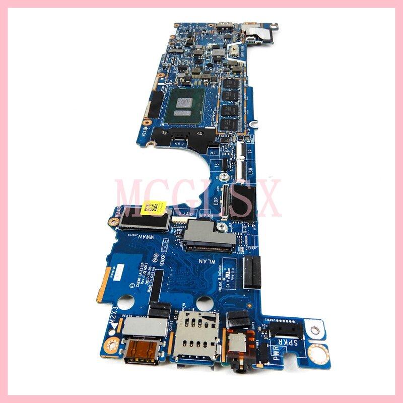 LA-E111P I3-7100 وحدة المعالجة المركزية اللوحة الرئيسية لأجهزة الكمبيوتر المحمول Dell Latitude 7389 2-in-1 اللوحة الأم CN-0J9XP9 J9XP9 100% اختبارها