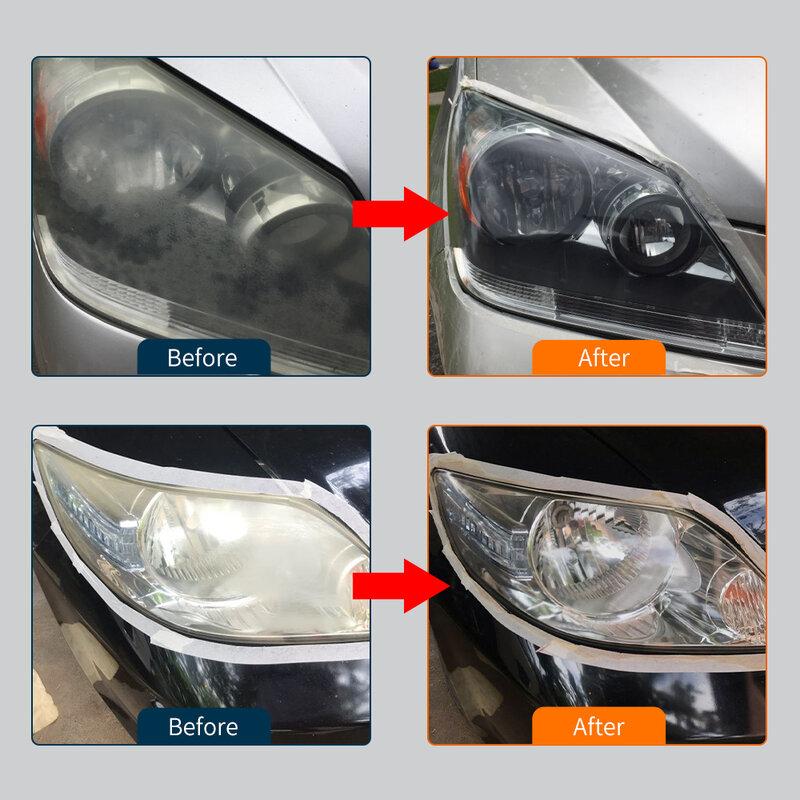 HGKJ 9H سيارة صلابة المصباح تلميع إصلاح السائل بوليمر السيارات الأنظف مجموعة كيماويات تنظيف السيارات للسيارات