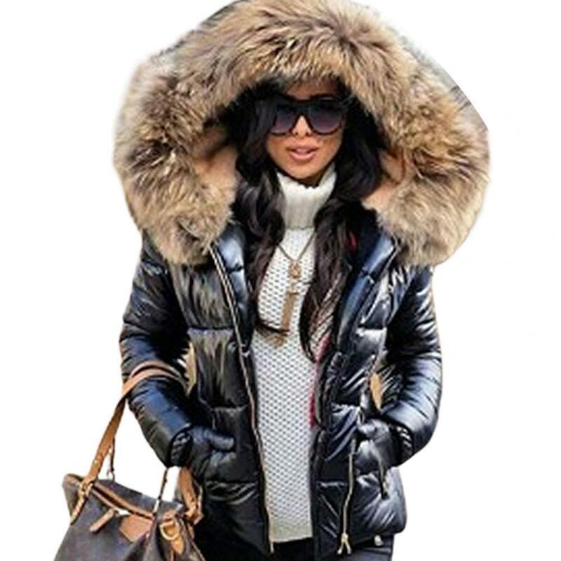 معطف باركا نسائي للخريف والشتاء بقلنسوة من الفرو الصناعي, معطف دافئ ، في الهواء الطلق ، سترة قابلة للتعديل ، ملابس خارجية ، جودة عالية