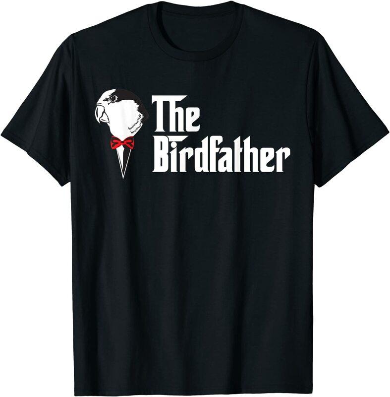 تي شيرت birddad مضحك الطيور أبي عاشق قميص