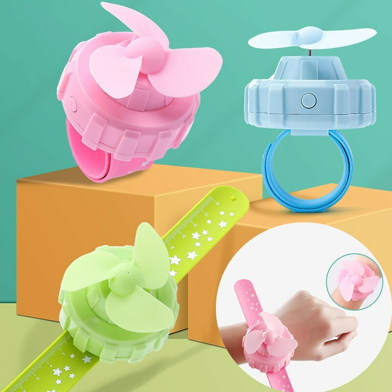الصيف المحمولة USB شحن مروحة ساعة صغيرة للأطفال المعصم الصامت مروحة المشجعين للمنزل سقف المشجعين مع مروحة خفيفة-الهواء الصغيرة