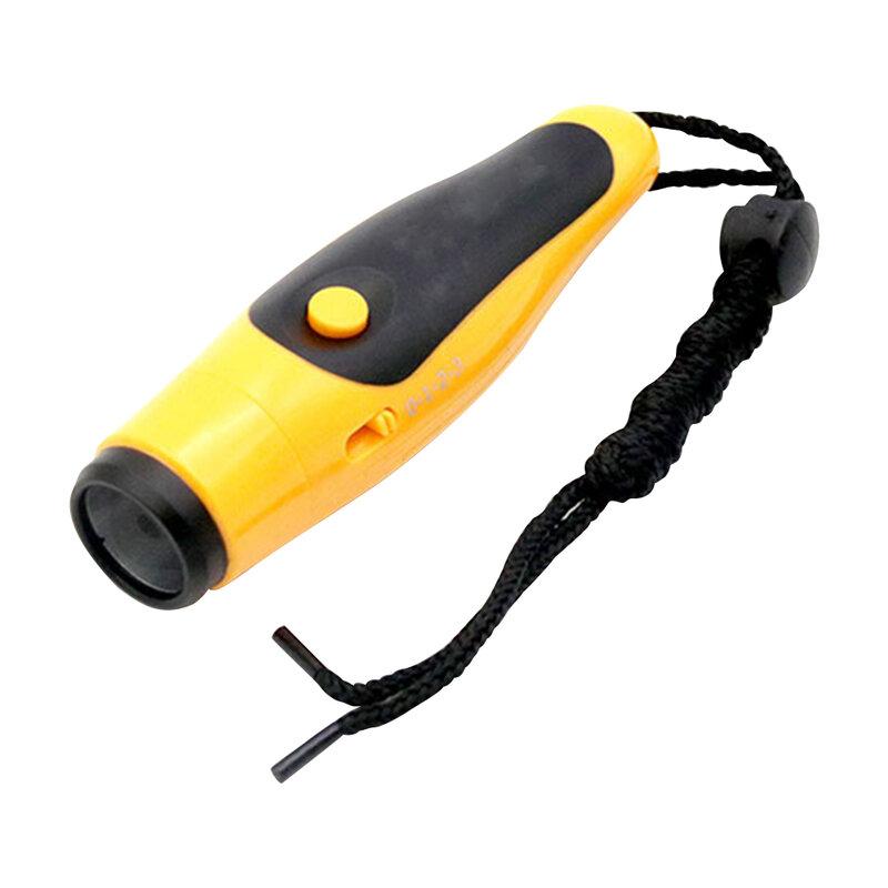 125dB صفارة إنقاذ صافرة الإلكترونية مع الحكم الحبل في الهواء الطلق الأصفر لممارسة الرياضة في الهواء الطلق الحلي