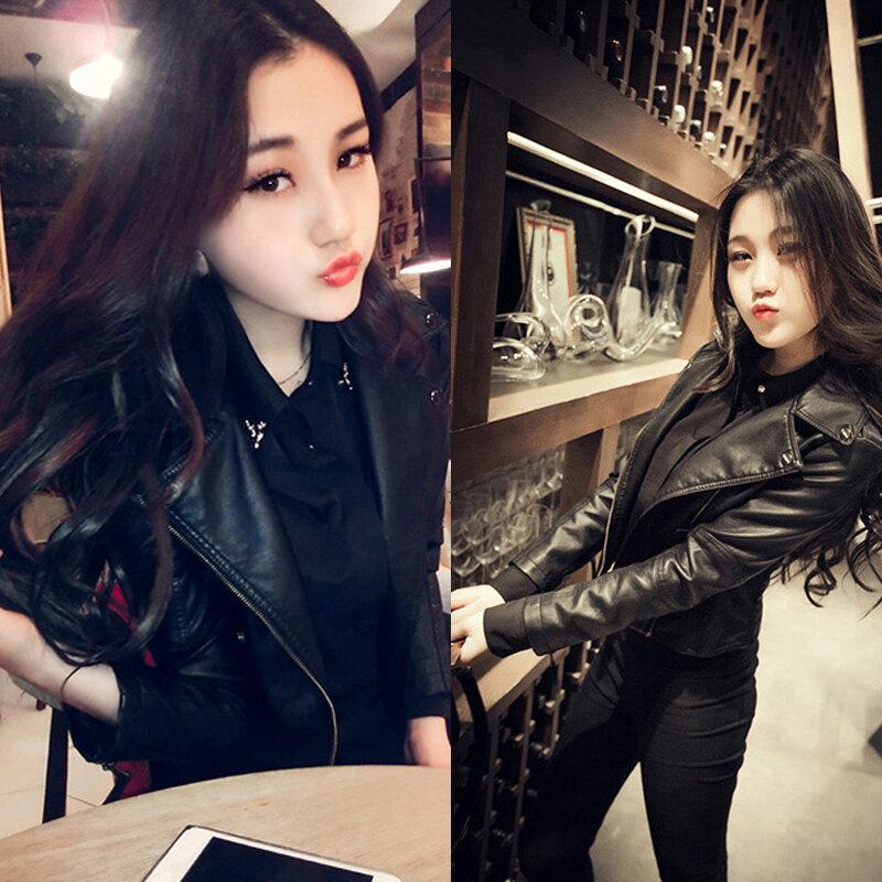 Simple Style Genuine Leather Womens Casual Jackets Plus Size Female Soft Sheepskin Street Jacket Sales