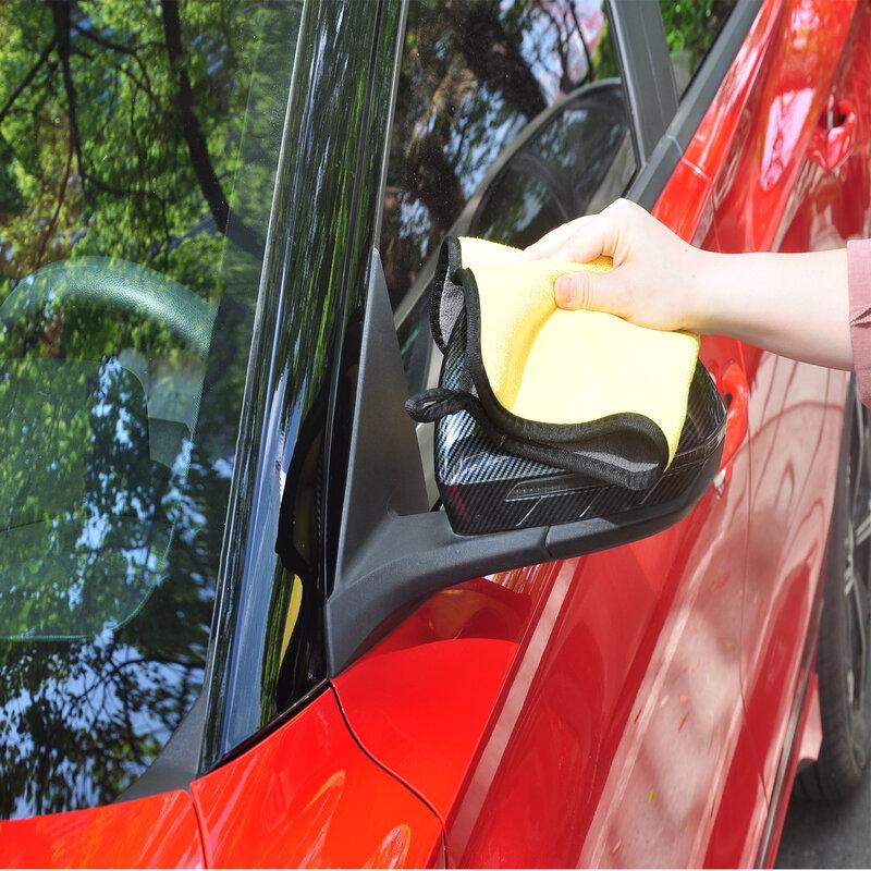 2020 متعددة الأغراض أفخم قماش تنظيف شديد الليونة منشفة المنزلية وغسيل السيارات ، والتجفيف ، بالتفصيل 600GSM