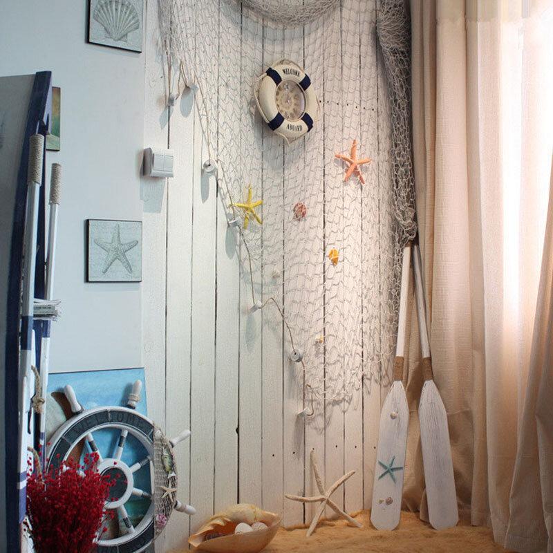 صور الدعائم كبير الصيد صافي قذيفة تعويم الجدار الشنق ملصقات جدار الديكور بحري الصيد شبكة