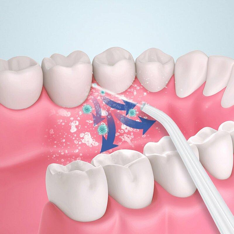 المنزلية الذكية الكهربائية الأسنان فلوشير IPX7 مقاوم للماء ثلاثة سرعات تعديل وسائط المحمولة الأسنان فلوشير