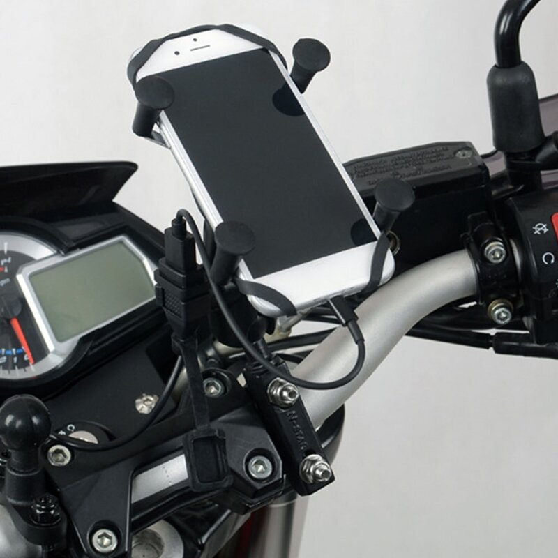 U90C المقود سريع محول الشحن دراجة نارية 12/24 فولت امدادات الطاقة مقبس USB
