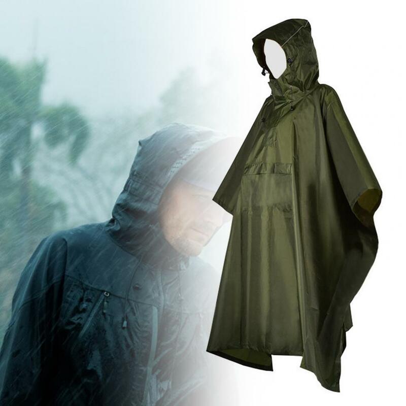 80% hotrain معطف مقنعين مقاوم للماء للجنسين البلوز معطف واقي من المطر مع جيب لتسلق الجبال