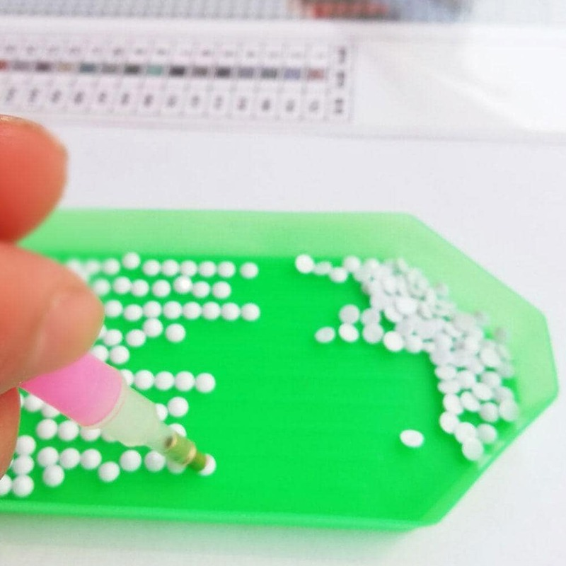 فراشة نمط ثلاثية الأبعاد لتقوم بها بنفسك ألواح تلوين حرفية لامعة Ctitch الفن اللوحة ديكور الماس الكريستال فسيفساء التطريز أطقم Y7S7