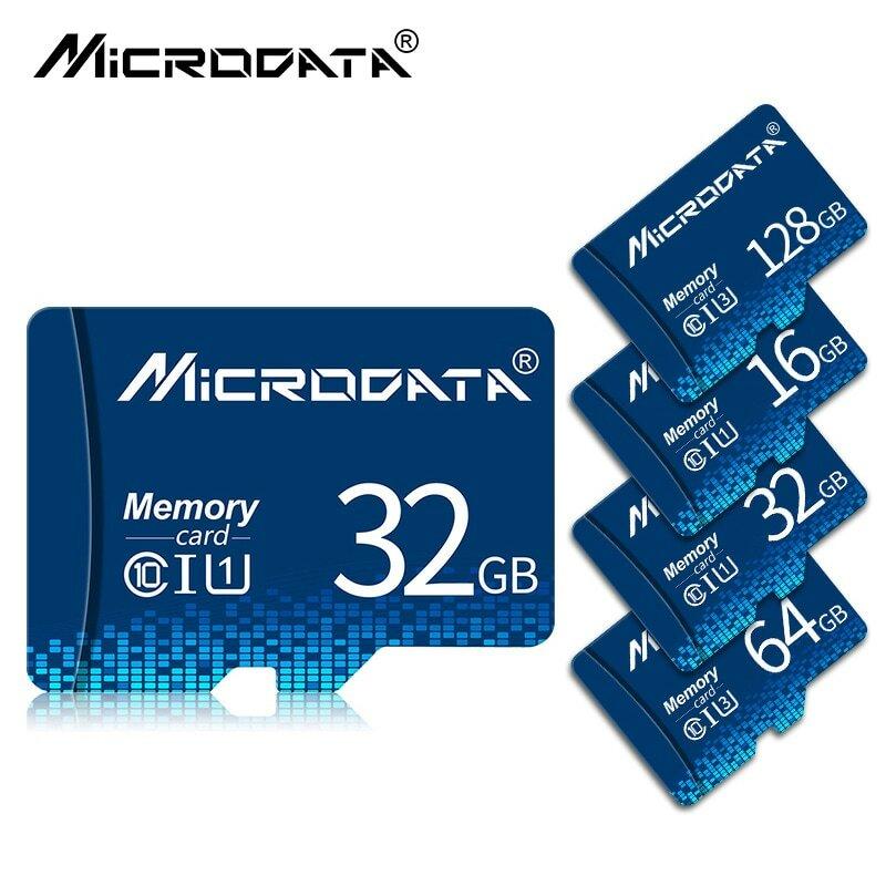 بطاقة ذاكرة ميكرو SD TF عالية السرعة 64 جيجابايت 128 جيجابايت بطاقة ذاكرة ميكرو SDHC SDXC بطاقة ذاكرة ميكرو SD صغيرة 4 جيجابايت 8 جيجابايت 16 جيجابايت بط...