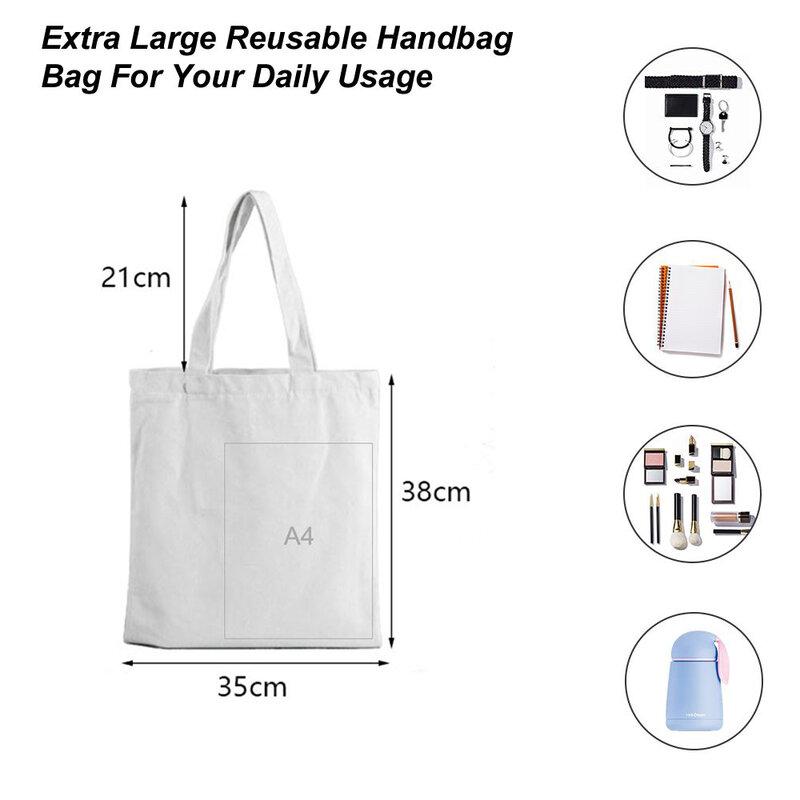حقيبة مع حقائب ورقية من الإقحوانات حقيبة نسائية كورية للتسوق على الشاطئ التسوق قماش للسيدات ترولي لمحلات البقالة في الصيف