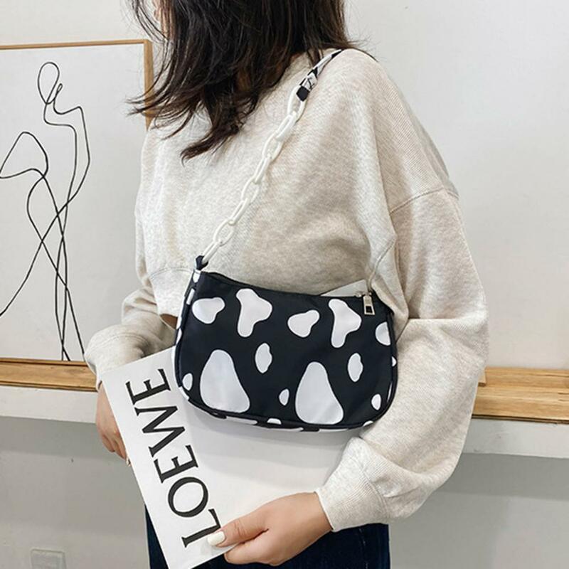 حقيبة كتف سلسلة حلوة إكسسوارات اختيارية قماش أكسفورد رائعتين حقيبة ساعي مريحة لفتاة