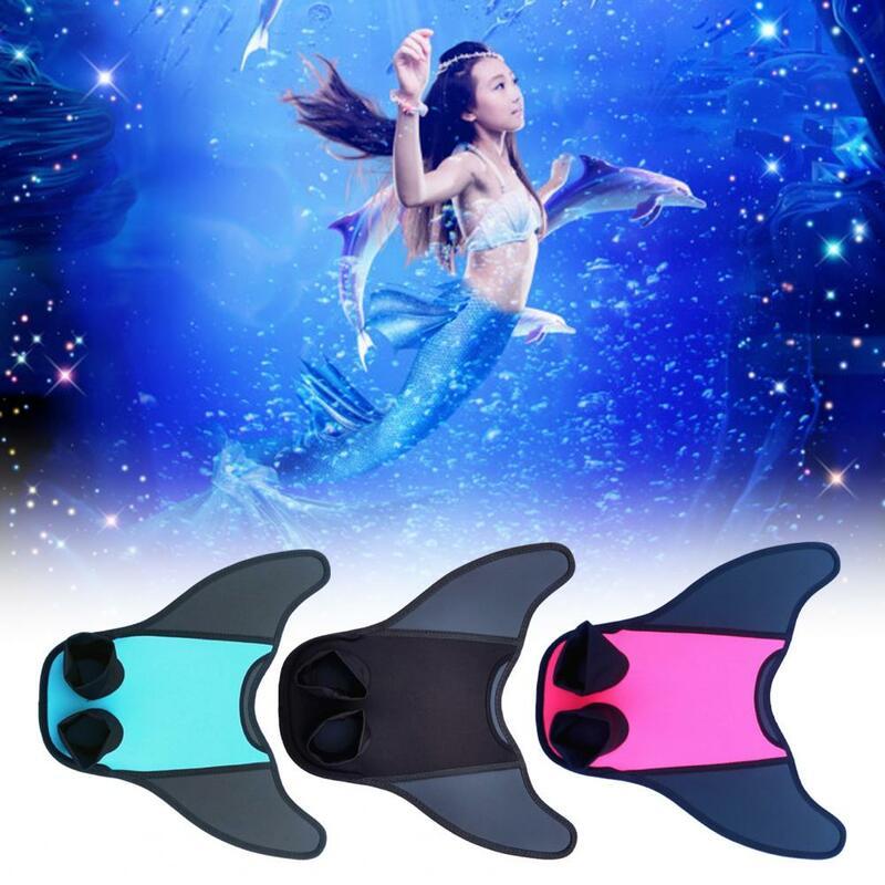 تتلاشى-أقل قابلة لإعادة الاستخدام بسهولة ارتداء ذيل حورية البحر السباحة المنوفية للغوص