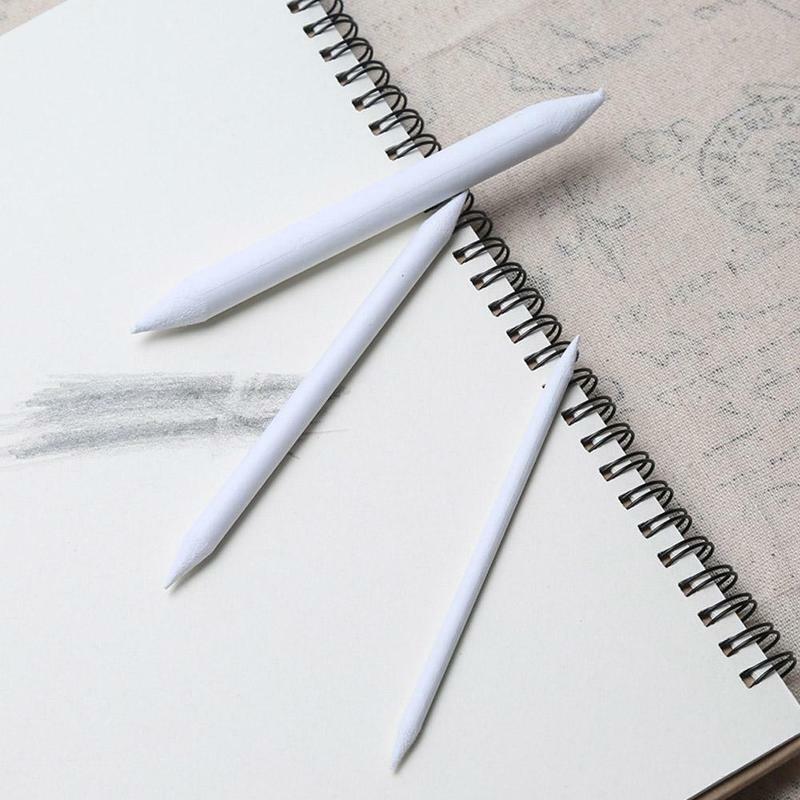 3 قطعة/مجموعة خاص الأرز ورقة ممسحة أقلام مزج لطخة صنع عصا ظلال بيضاء منطقة الفن التموين ورقة رسم رسم جزمة R7Z5