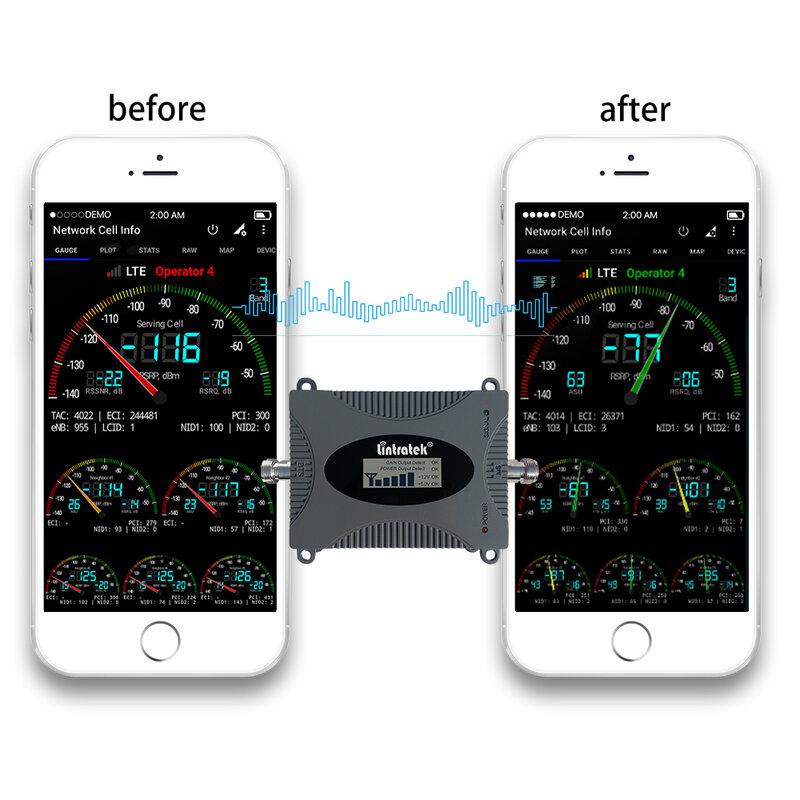 Lintratek 4G LTE B13 700mhz الخلوية مكبر للصوت Band13 700 إشارة الداعم الهاتف المحمول مكرر الإنترنت مجموعة كاملة للولايات المتحدة الأمريكية كندا