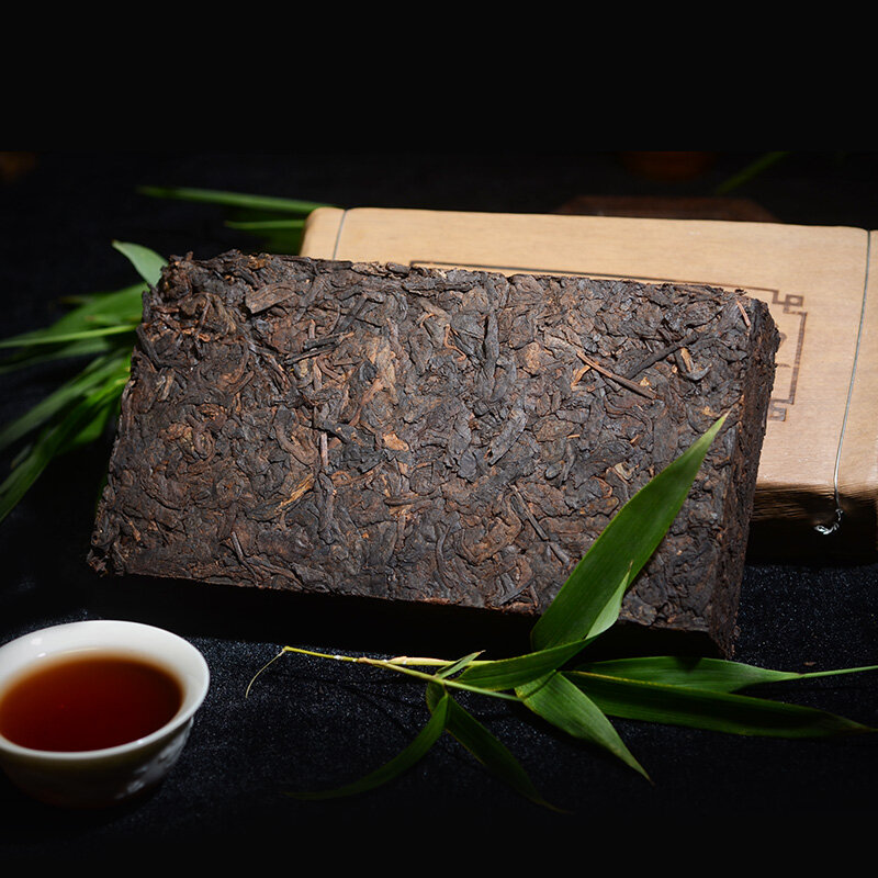 صنع في 2008 شاي بوير ناضجة الصين يوننان أقدم بويره أسفل ثلاثة عالية واضحة النار إزالة السموم الجمال بويره بو إيه الشاي الأخضر الغذاء