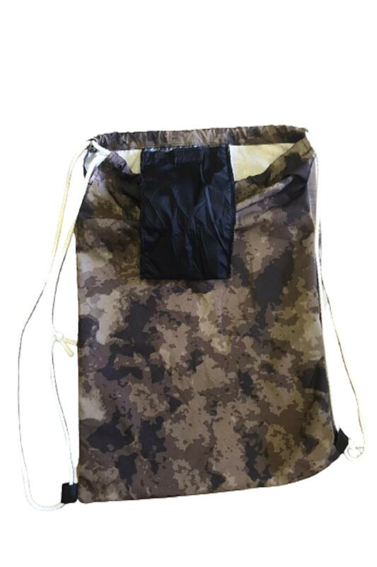 Unisex Camouflage Pattern Sports Bag, Durable, Secret Pocket, Picnic, Travel, Hiking, Camping, natural Cotton Woven Casual Wide