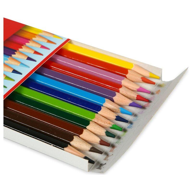 SERESSTORE-قلم تلوين كامل الحجم ، 12 لونًا