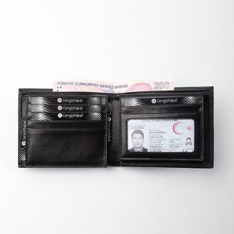 رجل حقيقي محفظة جلدية s الرجال محفظة الائتمان حاملي بطاقات الأعمال Vintage محفظة جلدية سوداء المحافظ عالية الجودة أسود